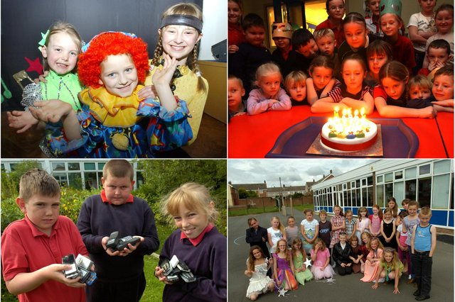 Archive scenes from Rift House Primary School. How many do you remember?
