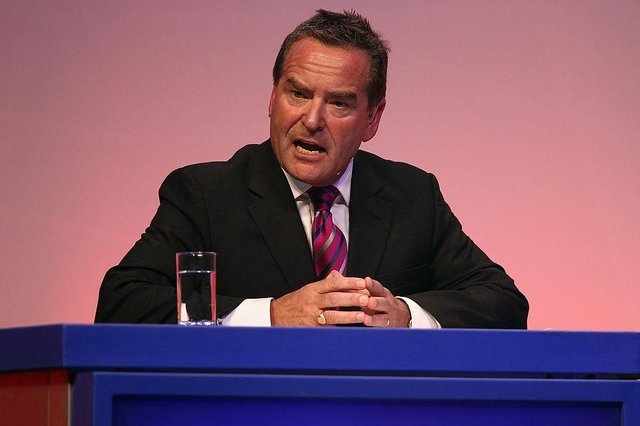 Hartlepool United club president Jeff Stelling (Photo by Bryn Lennon/Getty Images)
