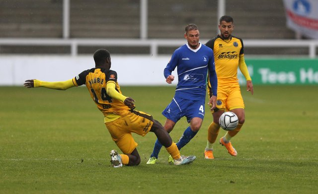 Gary Liddle will miss this weekend's match. (Credit: Christopher Booth | MI News)