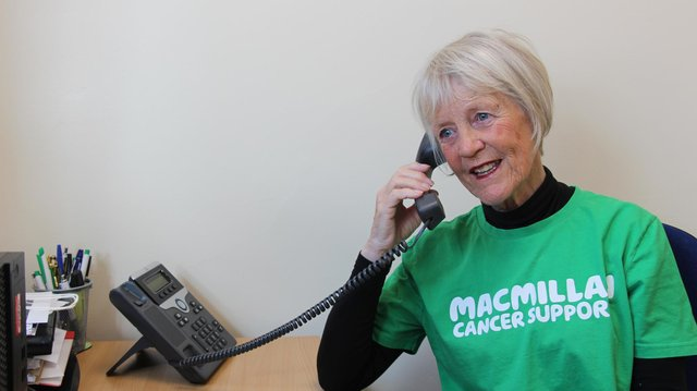 Volunteer Sue Carter